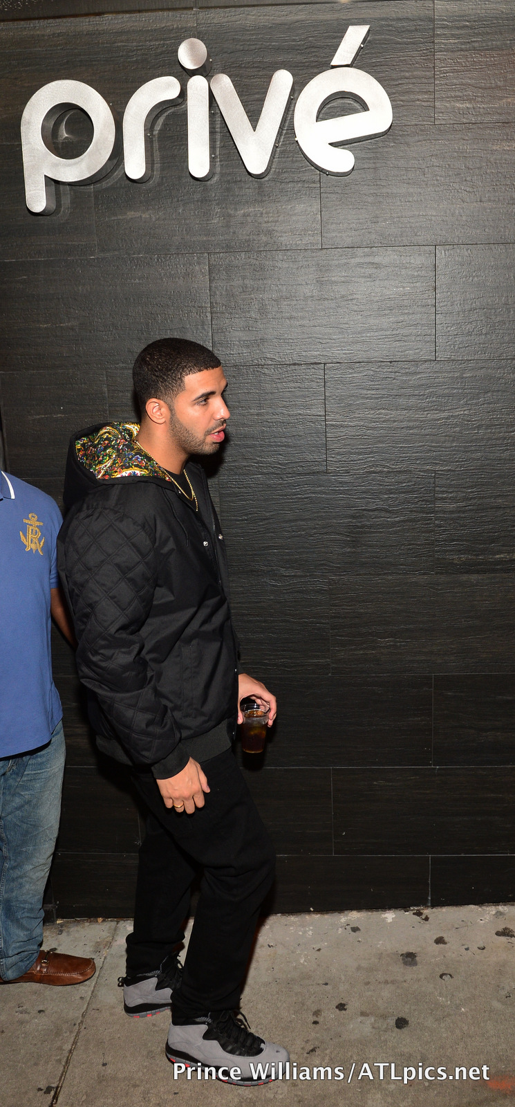 63d8772401e Drake Wearing The Upcoming Cool Grey And Infrared Air Jordan 10s ...